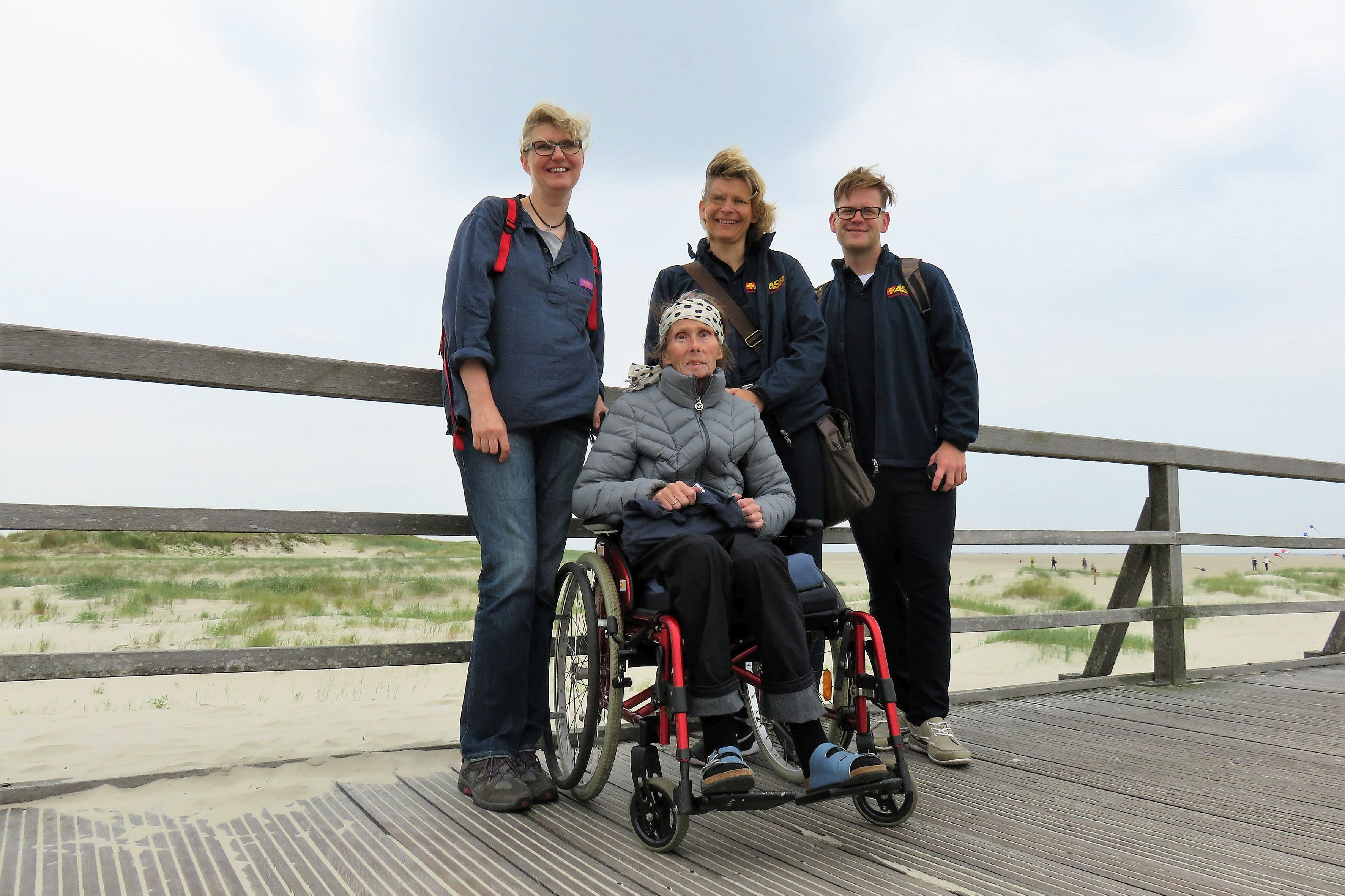 Edith in St. Peter Ording